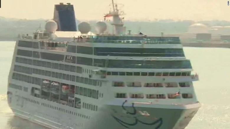 Historic US Cruise Docks In Havana Cuba  CNN