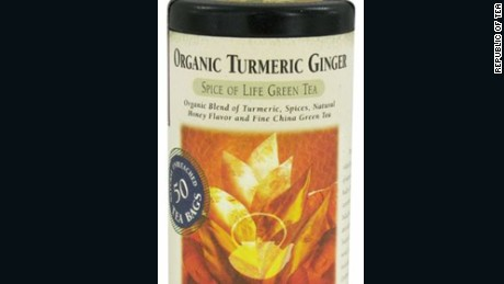The Republic of Tea is voluntarily recalling its Organic Turmeric Ginger tea due to the possibility of Salmonella contamination in one lot of this product.