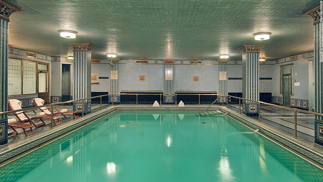 6 spectacular los angeles hotel pools - Indoor swimming pool in los angeles ...