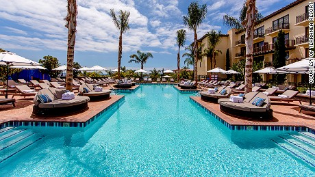 Hugging the craggy Palos Verdes peninsula on L.A.'s southern tip like a pirated slice of the Mediterranean, the 102-acre Terranea Resort can claim the perfect quartet of oceanfront pools for every type of guest.