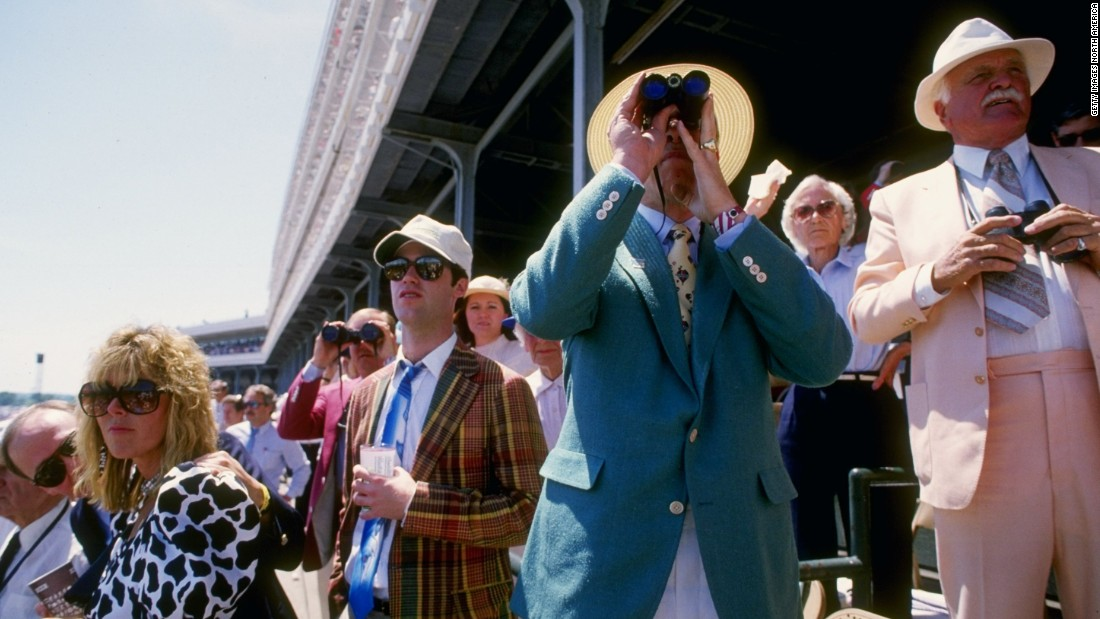 Bold prints and multi-colored suits make the 1980s a fashion decade to remember.