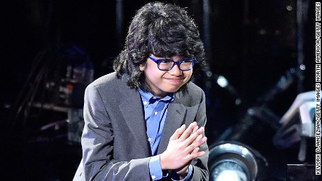 LOS ANGELES, CA - FEBRUARY 15:  Jazz pianist Joey Alexander performs onstage during the GRAMMY Pre-Telecast at The 58th GRAMMY Awards at Microsoft Theater on February 15, 2016 in Los Angeles, California.  (Photo by Kevork Djansezian/Getty Images)