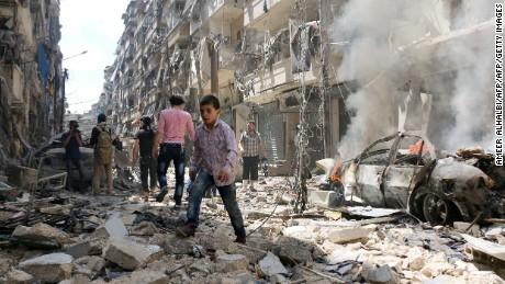 Rebels in Syria behead boy in 'mistake'