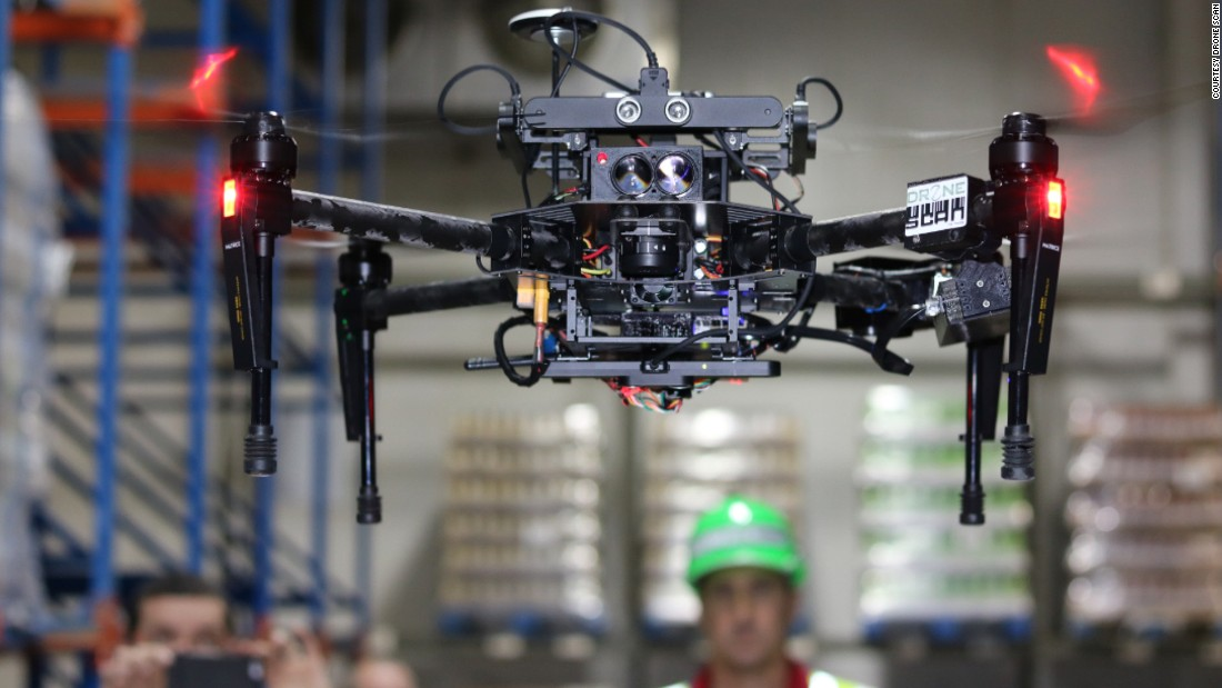 Are Flying Robots The Perfect Co-workers?
