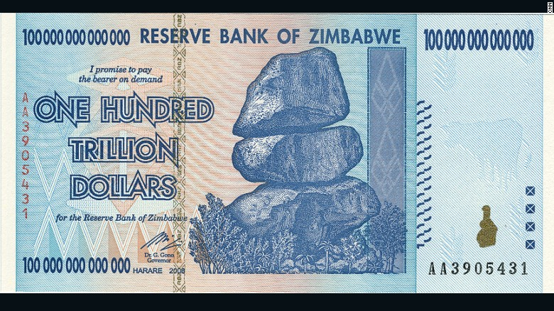 zimbabwe a worthless currency As zimbabwe plans to reintroduce local currency there are fears of a return   paper on which to print practically worthless trillion-dollar notes.