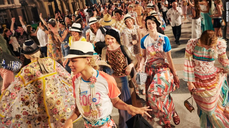 Luxury fashion house Chanel took to the streets of Cuba to reveal its 2017 Resort collection.