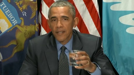 President Obama visited Flint in May.