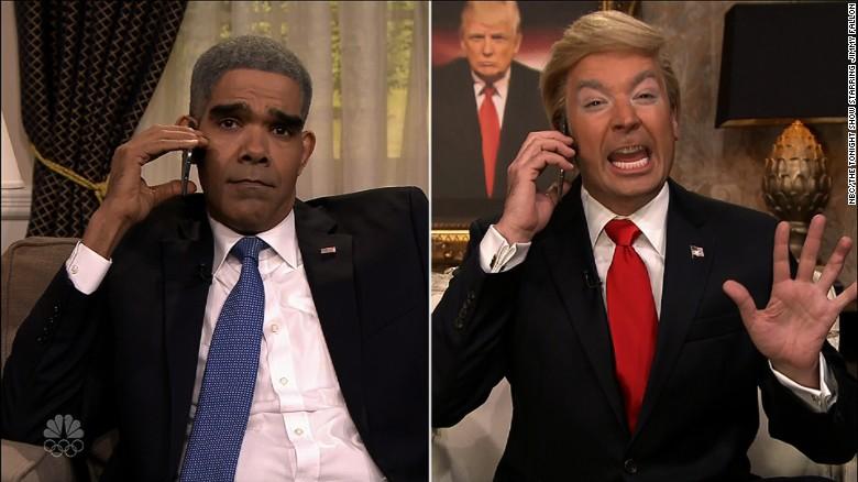 Fallon mocks Trump over 'bigly' comment