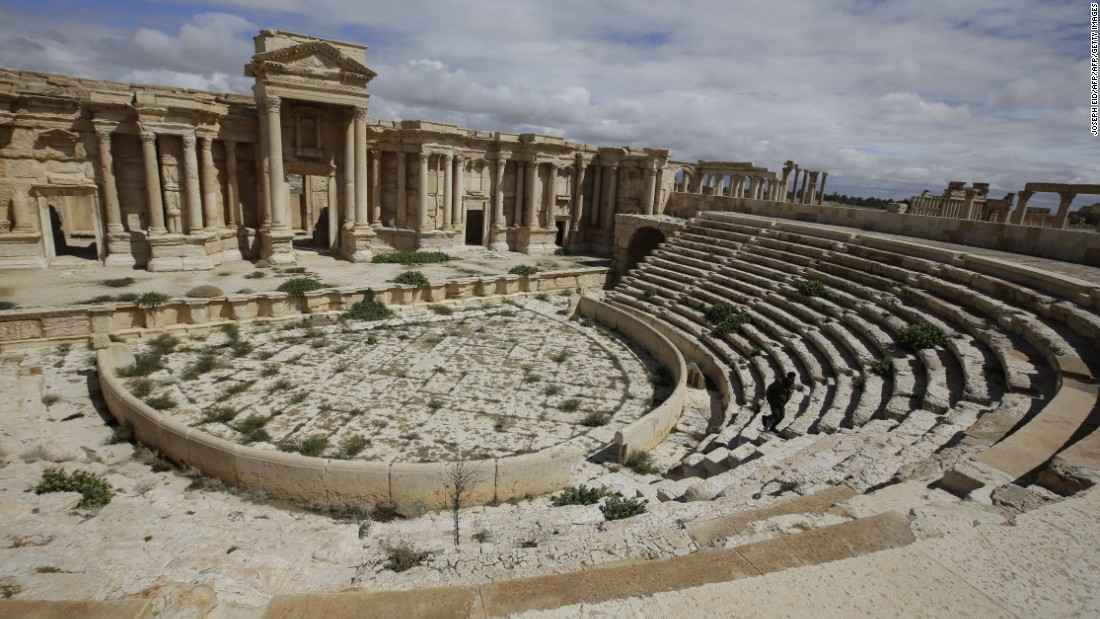 ISIS reportedly destroys facade of Roman theater