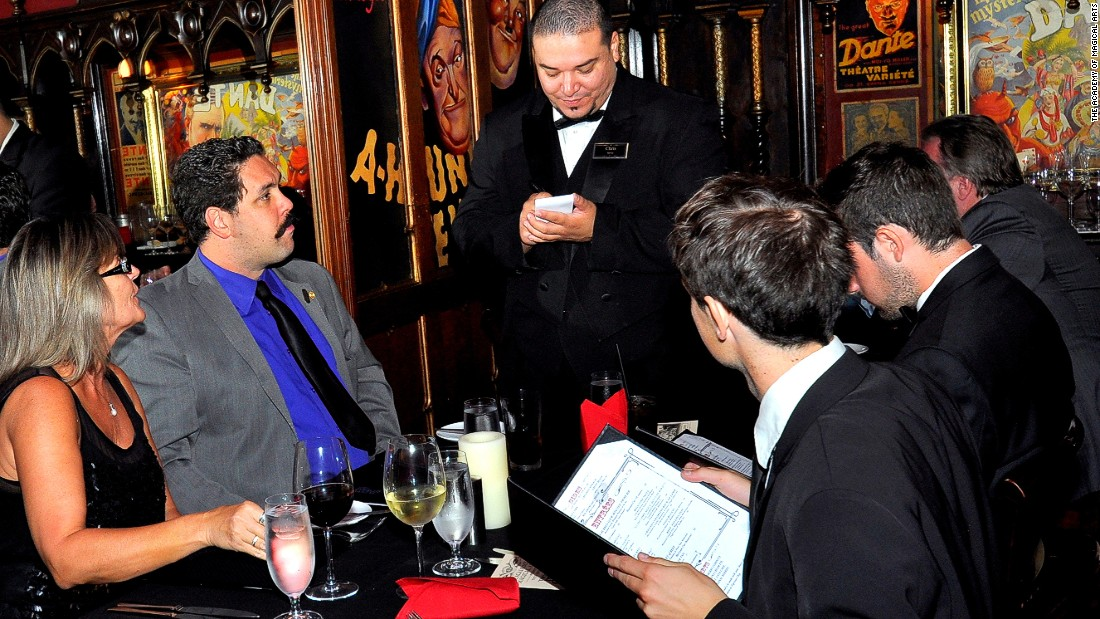 """""""You've picked a very good time to come and experience the Magic Castle,"""" a waiter tells CNN. """"Our new chef is really quite exceptional."""""""