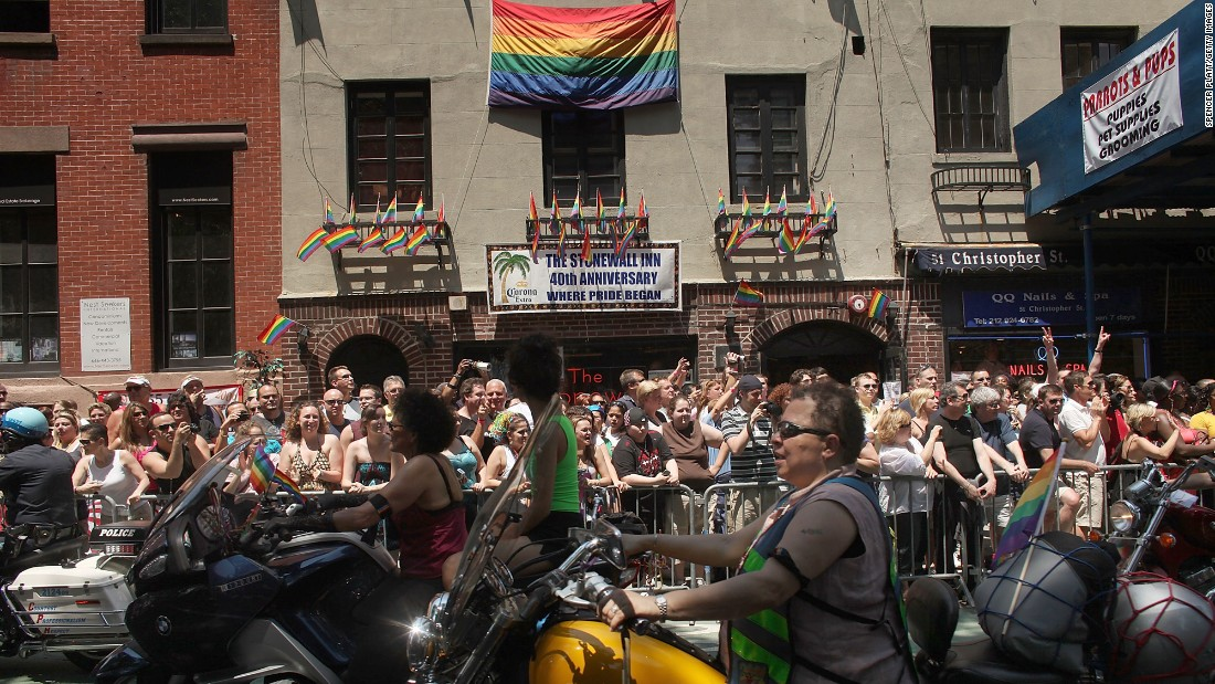 from Dean gay revolution riot sparked stonewall that