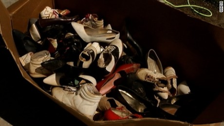 Homeowner says 53 pairs of shoes found hidden inside secret closet in Michigan barn