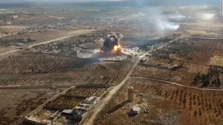 syria aleppo nusra drone video vo_00003121