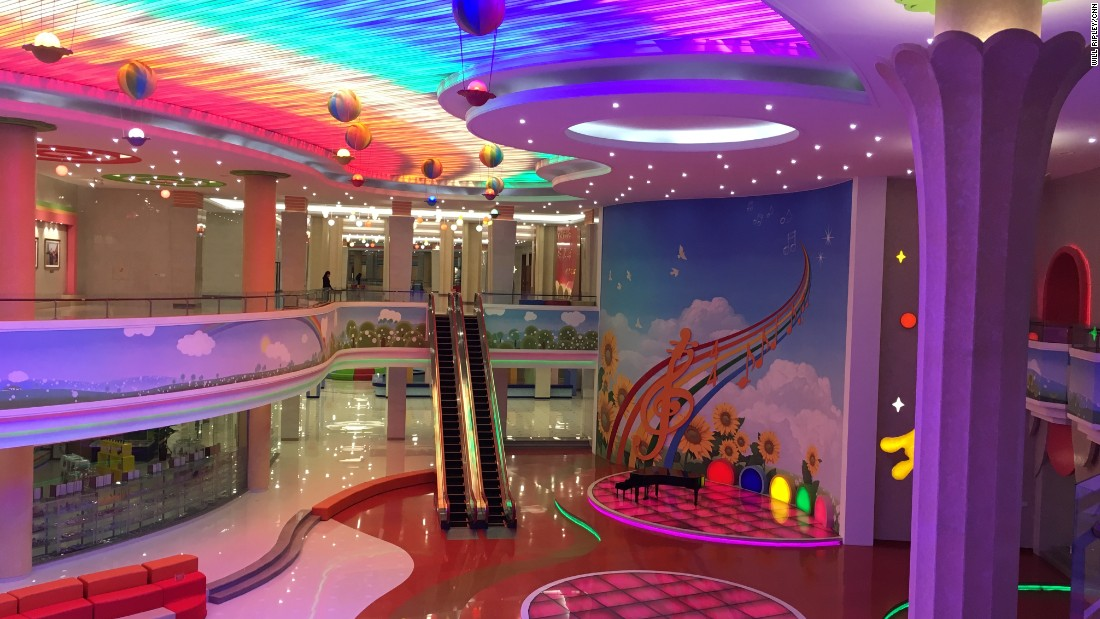 On May 5, 2016, CNN toured the Man Gyong Dae School Children's Palace, an after school activity complex, in Pyongyang.
