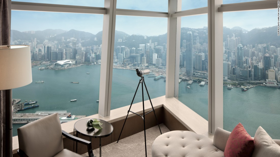 Hong kong 39 s best hotels for amazing views for Amazing hotels of the world