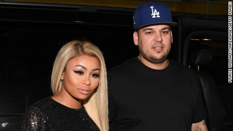 ATLANTA, GA - MARCH 27:  Blac Chyna and Rob Kardashian at Onyx Nightclub on March 27, 2016 in Atlanta, Georgia.  (Photo by Prince Williams/WireImage)