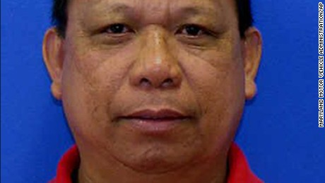 This photo provided by the Maryland Motor Vehicle Administration shows Eulalio Tordil. A manhunt was under way May 6, 2016, after authorities said they were looking into whether three fatal shootings in the Washington area were connected. The first shooting occurred May 5 at a high school. The second occurred in a mall parking lot and the third happened minutes later at a nearby shopping center. Police have identified the school shooting suspect as Tordil, an employee of the Federal Protective Service, which provides security at federal properties. (Maryland Motor Vehicle Administration via AP)