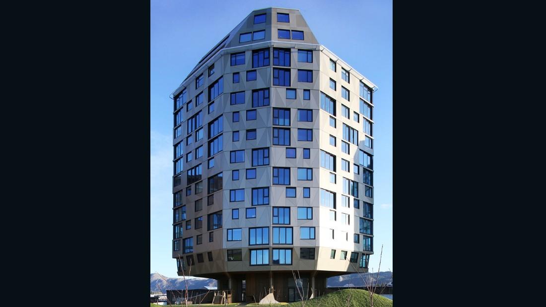 Rundeskogen. dRMM Architects, Helen and Hard Architects. 2013, Stravanger. (Photo: Alex de Rijke)