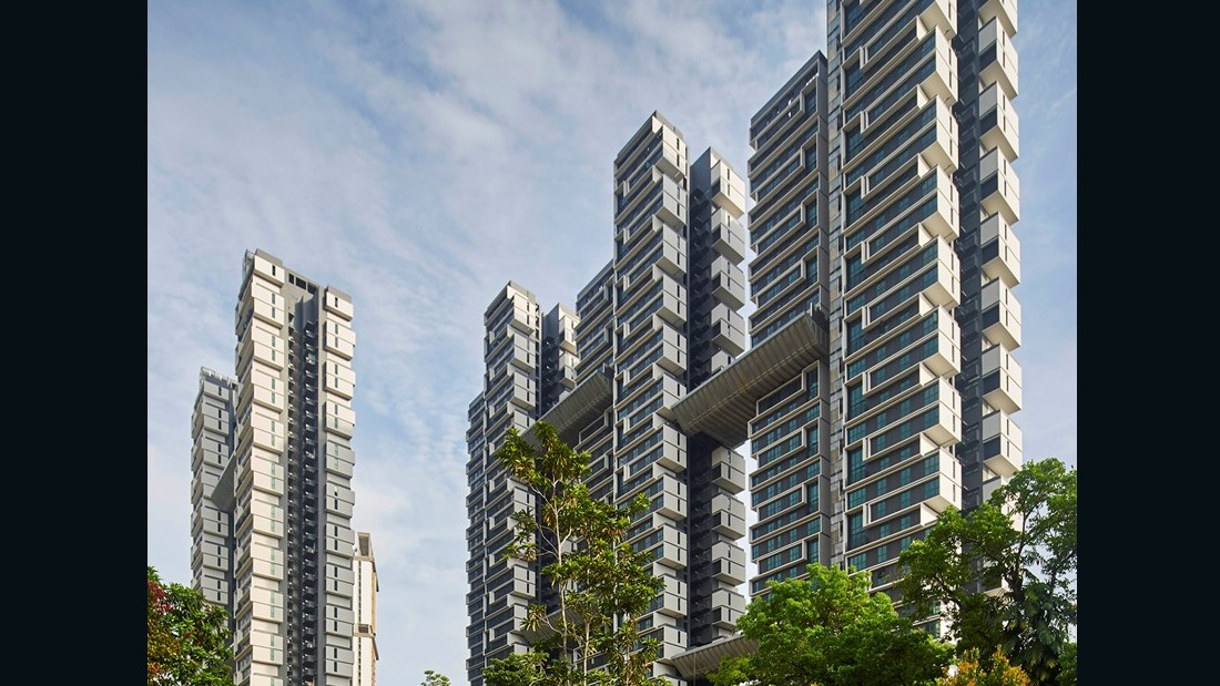 SkyTerrace. SCDA  Architects Pte Ltd. 2015, Singapore. (Aaron Pocock)