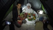 Getting married in a refugee camp