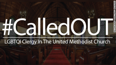 Dozens of United Methodist clergy members came out as gay, lesbian and transgender on Monday, May 9.