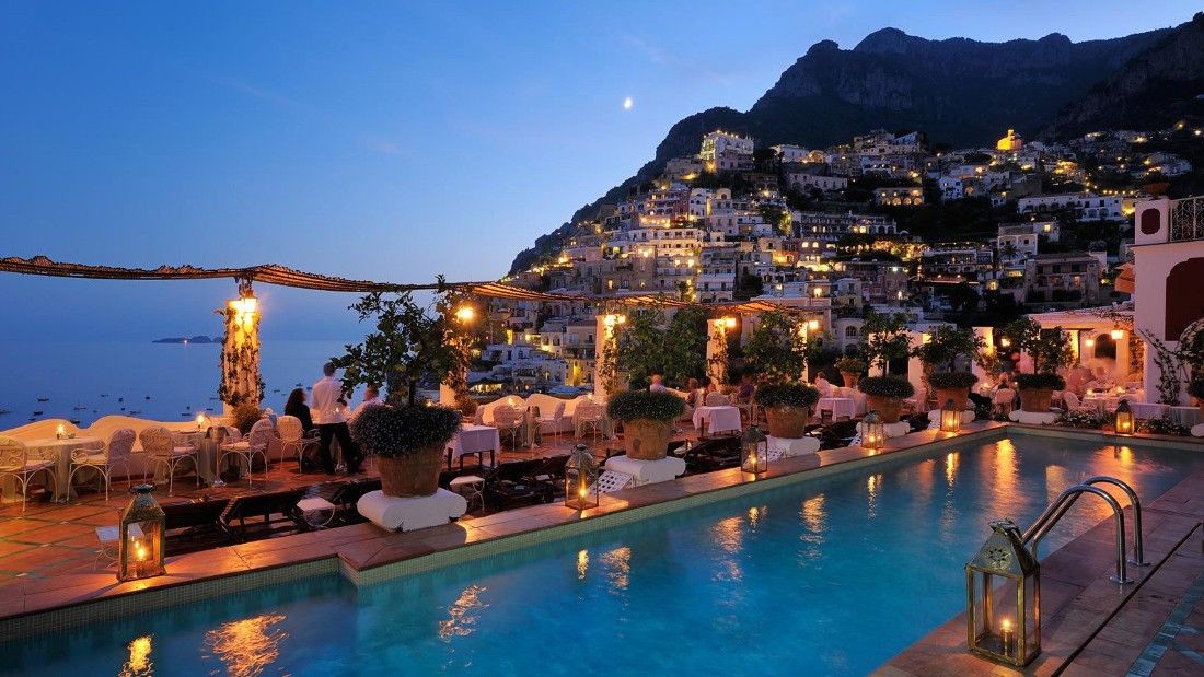 This Amalfi Coast grande dame is legendary as much for famous former guests, such as John Steinbeck, as its swimming pool overlooking the Tyrrhenian Sea.