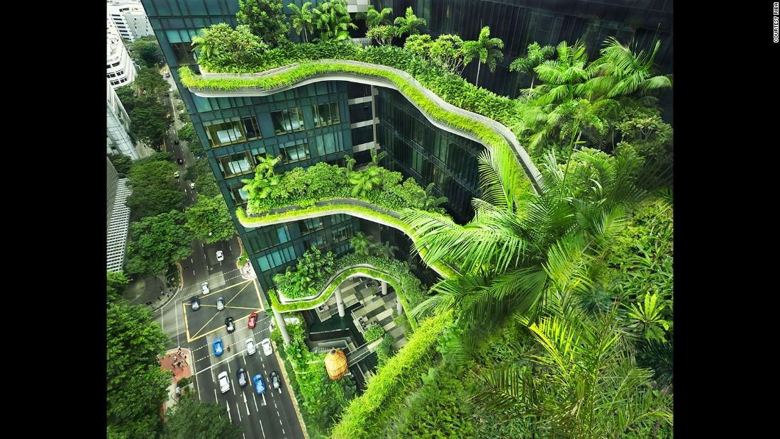 PARK ROYAL on Pickering. WOHA Architects Pte Ltd. Singapore. (Photo: Patrick Bingham Hall)