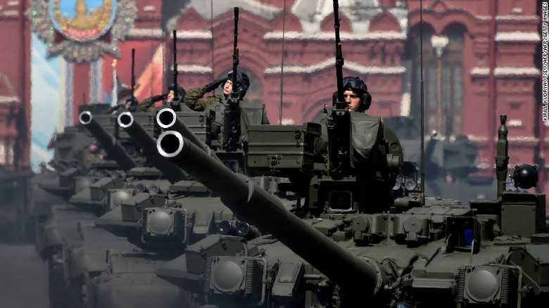 The power of Russia's military