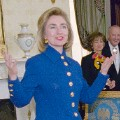 Hillary Clinton Blue Room 1995