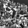 upton park west ham man utd fans 1976