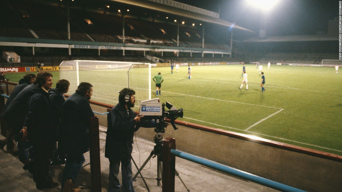 West Ham won the European Cup Winners' Cup in 1965, but 15 years later this match against Real Madrid's reserve team Castilla in the now defunct competition was played behind closed doors due to crowd trouble during the first leg in Spain.
