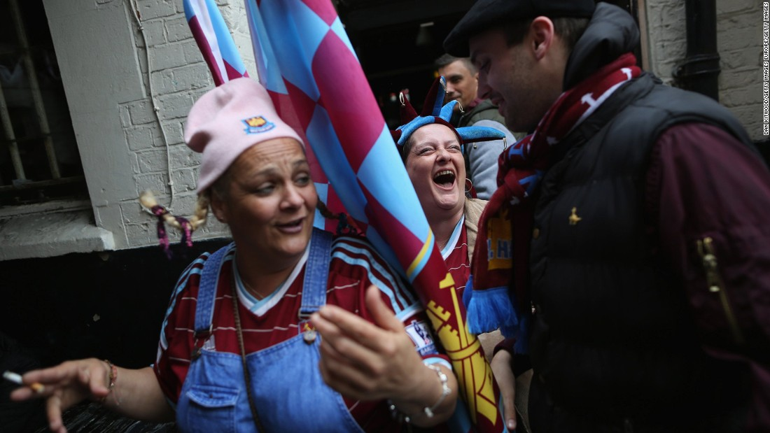 The Boleyn Pub is another popular meeting ground for fans.