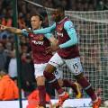 Diafra Sakho celebrates goal