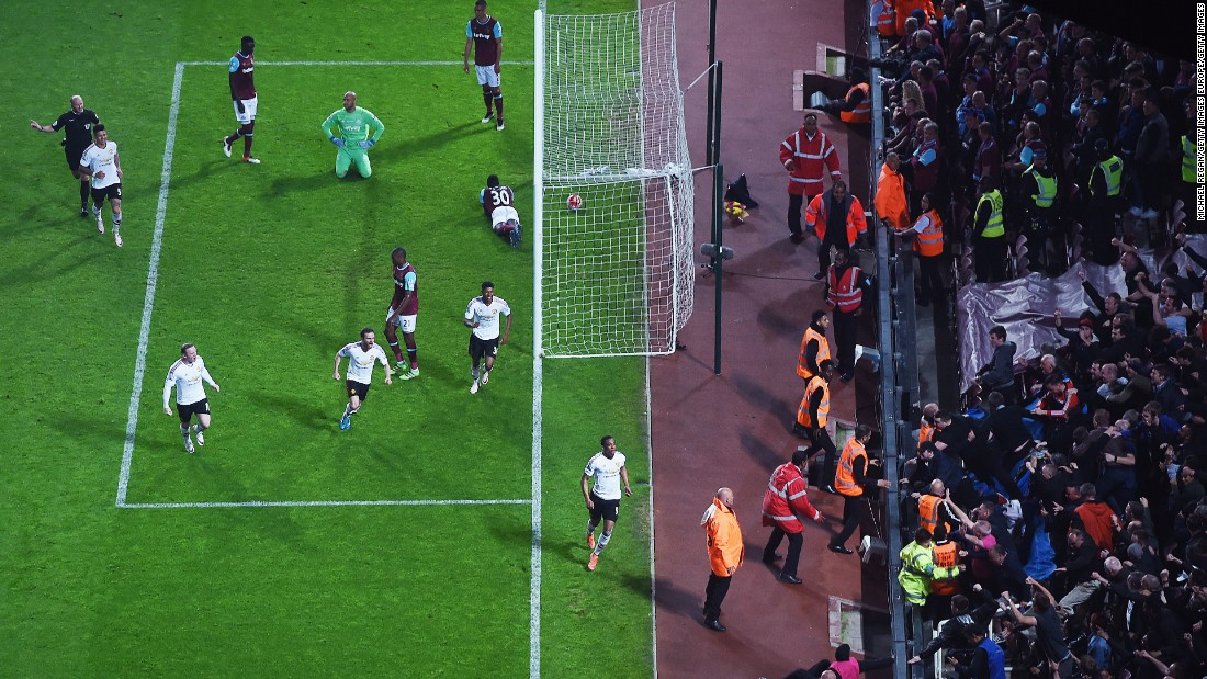 However, Anthony Martial leveled six minutes after halftime and then put Manchester United in front in the 72nd minute after punishing West Ham on the counter attack.