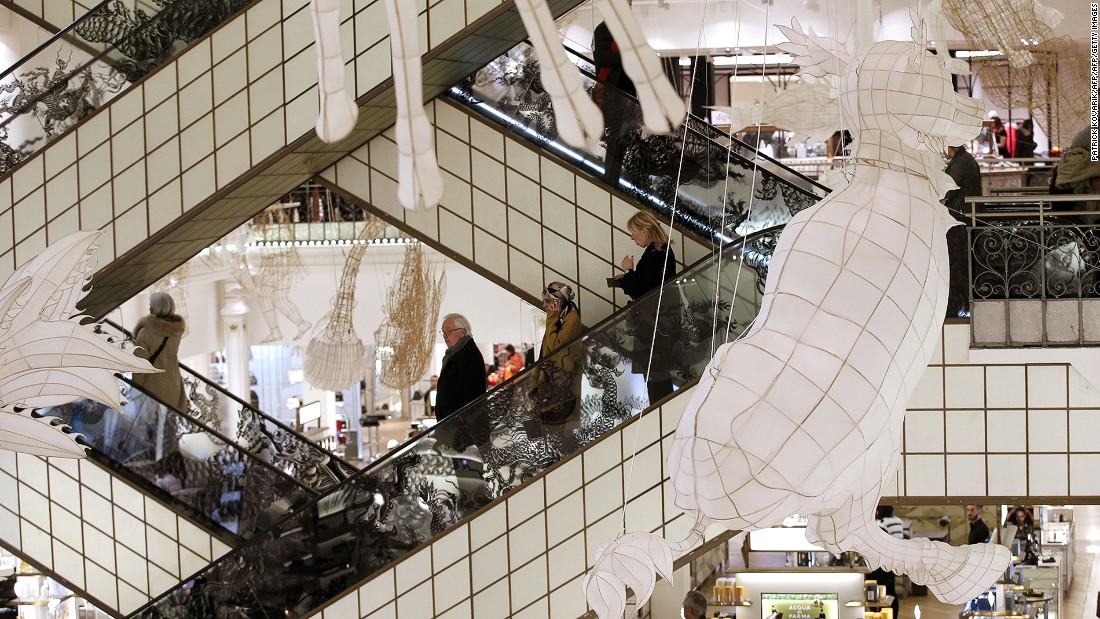 Paris's Le Bon Marche is one of the planet's coolest department stores. Welcoming up to 15,000 customers per day, it's said to be the world's first modern department store. The photogenic escalators designed by Andree Putman have become a hallmark of this shopping destination.