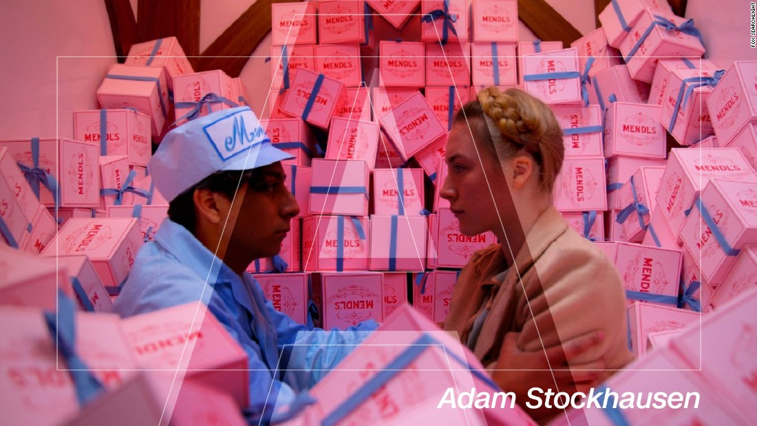 "The last three years have been profitable for production designer Adam Stockhausen. Academy Award nominations for ""12 Years a Slave"" in 2014 and this year for ""Bridge of Spies"" bookended his win for Wes Anderson's kitsch caper ""The Grand Budapest Hotel"" in 2015. Stockhausen built Anderson's fictional European nation of Zubrowka from the ground up, from hotel interiors to prisons to Mendl's pastry shop -- largely avoiding CGI in the process. Cue cardboard trains and copious amounts of fishing line."
