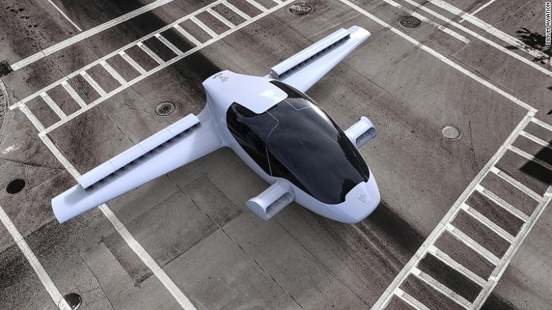 The Lilium airplane