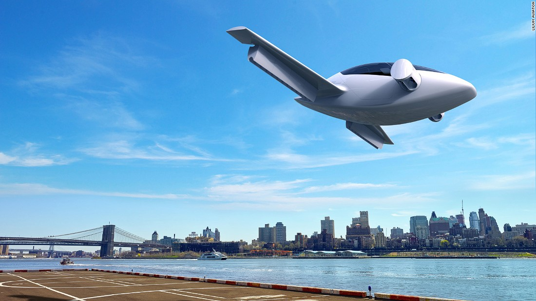Successful test flight for electric air taxi