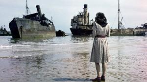 FRANCE. Normandy. 1947. Omaha Beach.