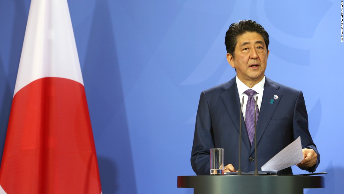 """<strong>Shinzo Abe:</strong> After serving just a year as Japan's Prime Minister, Abe resigned from his post in 2007 after low approval ratings and scandals amongst several government ministers. <a href=""""http://www.cnn.com/2012/12/26/world/asia/japan-new-pm/"""" target=""""_blank"""">He was re-elected in 2012.</a>"""