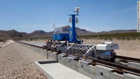 Hyperloop passes the first public test