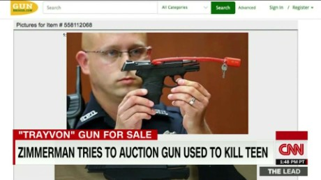 george zimmerman trayvon martin gun auction polo sandoval the lead_00001018.jpg