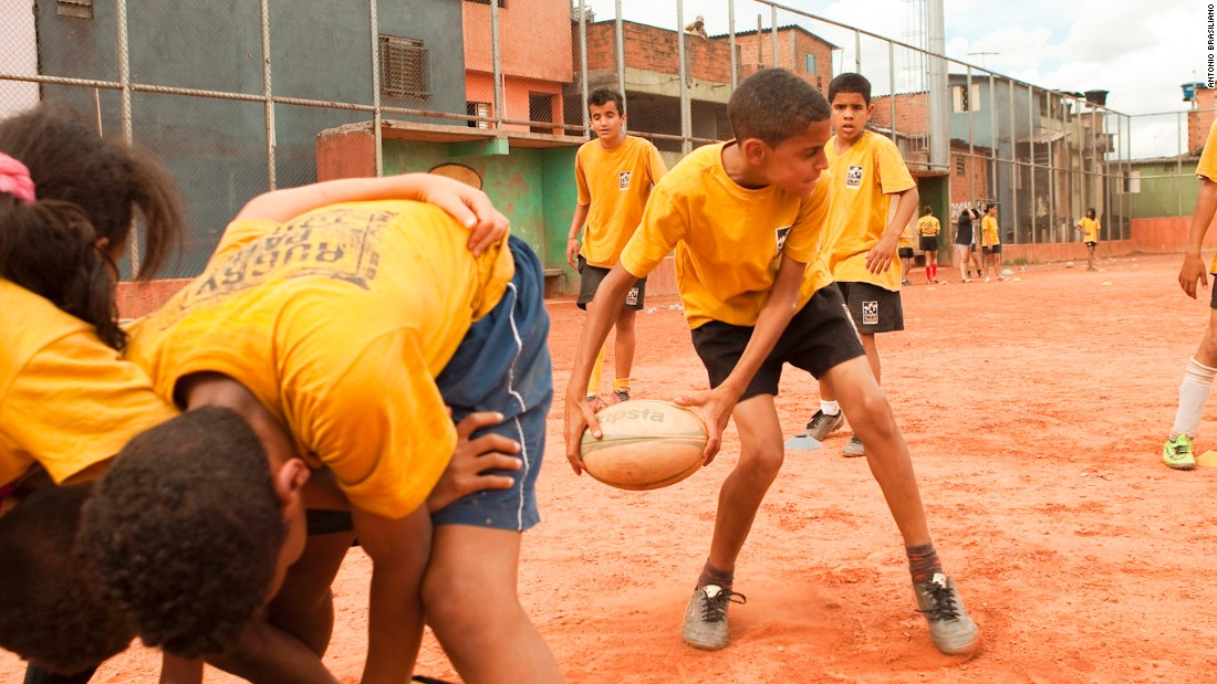 Originally, they just played rugby in training sessions on a dust bowl of a pitch shared with local football teams.