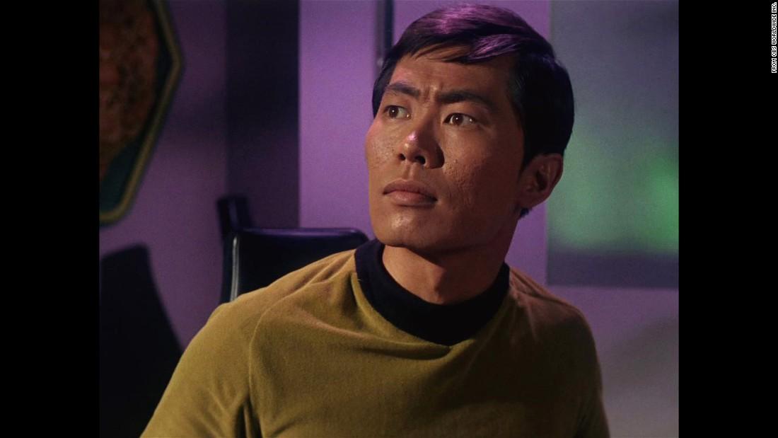 """George Takei played Hikaru Sulu in the original """"Star Trek"""" series."""