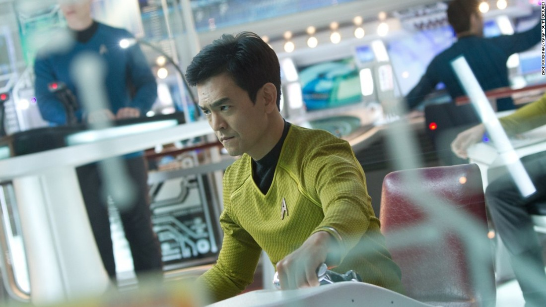 """John Cho, who plays Hikaru Sulu in the rebooted """"Star Trek"""" movies, featured in the recent #StarringJohnCho online campaign. The campaign was launched by digital strategist William Yu to highlight """"the lack of representation of Asian-Americans in media."""""""