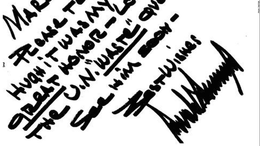 what handwriting reveals about the next president