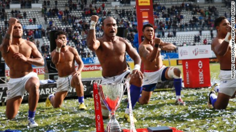 Samoa won May's Paris Sevens title but lost in the final of the Olympic repechage qualifier.