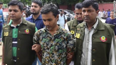 bangladesh hacking deaths arrest field lok_00010702