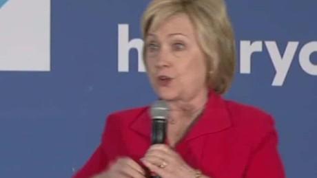 hillary clinton donald trump debate impersonation sot _00003808