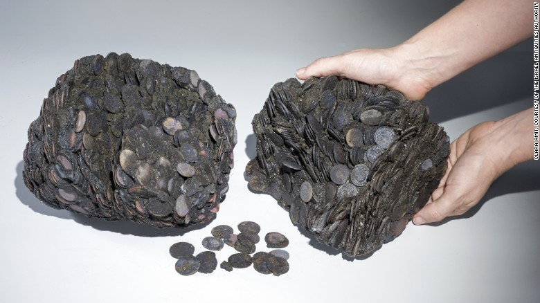 Tausende Münzen wurden aus dem Wrack geborgen